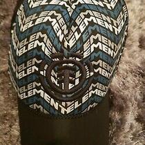 Element Crowns Skateboard Blue Snapback Adjustable Mesh Hat Photo