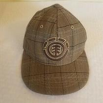 Element Crowns Skateboards Plaid Flexfit Polyester S-M Baseball Cap Hat Photo