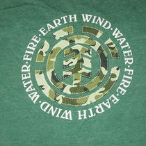 Element Earth Water Fire Snowboard Skate Shirt - S Photo