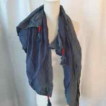 Element Eden Rayon Large Blue Ombre Square Scarf Wrap 37 Photo