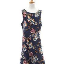 Element Eden Size M S Juniors Inner Beauty Floral Printed Sleeveless Mini Dress Photo