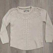 Element Eden Women's Cable Knit Pullover Cream Sweater Size S Photo