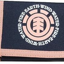 Element Elemental Mens Tri-Fold Wallet Eclipse Navy Photo