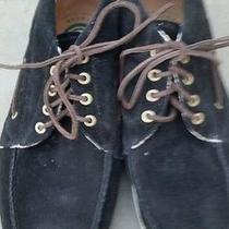 Element Emerald Collection Hampton Black Suede Men's Shoes Size 12 Photo