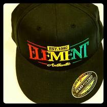 Element Flex Fitted Multicolored Hat Est 1992 Photo