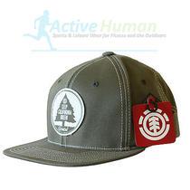 Element Forest Service Cap Skater Flat Peak Baseball Hat Adjustable Snapback Photo