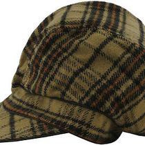 Element Glenda Womens Plaid Hat Size Large/x-Large Bnwt Photo