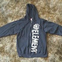 Element Graphic Black Zip-Top Hoodie Photo