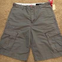 Element Gray Cargo Shorts Size 34 Photo