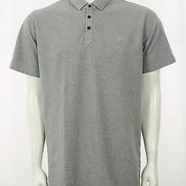 Element Gray Cotton Pique Casual Skate Surf Polo Shirt Mens Xl Photo