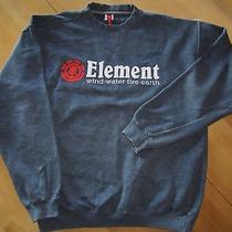 Element Gray Crew Sweatshirt Gently Worn Size L Photo