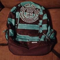 Element Green Striped Backpack Photo