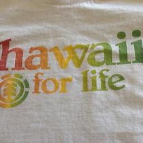 Element Hawaii for Life Rasta Graphic Shirt Men's Large See Pics Photo