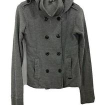 Element Jacket Wood & Thread Hoodie Pockets Cotton Poly Gray  - Women Size M Photo