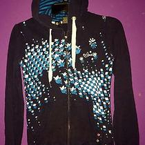 Element Juniors Blue Hoodie Sz. S 100% Cotton Long Sleeves Photo