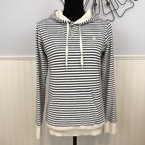 Element Juniors Size Medium Striped Pull Over Hoodie Sweater Photo