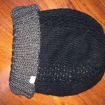 Element Knit Beanie Black & Gray 100% Acrylic Casual Photo