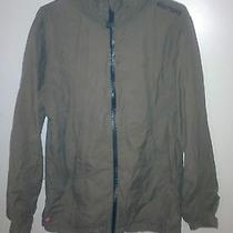 Element Lightweight Lined Hooded Windbreaker Jacket Olive Green  Photo