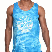 Element Men Fender X Element Bridge Tie Dye Tank Blue X-Large Photo