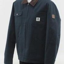 Element Men's Bronson Jacket Size Large (Green/brown) Photo