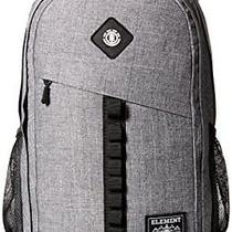 Element Men's Cypress Backpack With Laptop Sleeve Grey Grid Heather One Photo