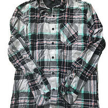 Element Mens Flannel Button Down Shirt Xl New Without Tags Photo