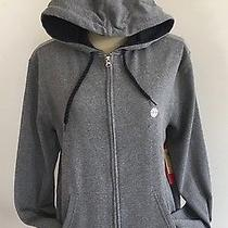 Element Men's Gray Hooded Sweatshirt Zipper Front Size Medium New W Tags  Photo