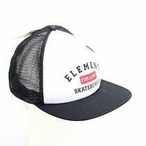 Element Men's Hat Black White One Size Rift Trucker Logo Snapback 22 434 Photo