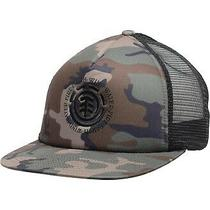 Element Men's Hat Brown Green One Size Camo Seal Logo Snapback Trucker 25 185 Photo