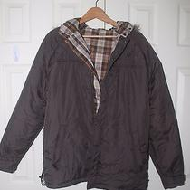Element Men S Reversible Winter Jacket Size L  Faux Fur on the Hood Photo