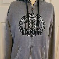 Element Mens Sherpa Lined Hooded Zip Front Jacket - Size Medium Photo