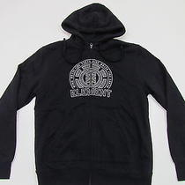 Element Mens Black Full Zipper Sweatshirt Hoody W Logo on Chest Nwt S Small Photo