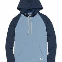 Element Mens Hoodie Blue Size Xl Colorblock Kangaroo Pocket Pullover 60 543 Photo