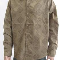 Element Mens New Flourish L/s Casual or Work Shirt Size L rrp79.99 Photo