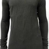 Element Mens S Comfort Long Sleeve Thermal Shirt Black Knit Top Designer jia.1 Photo
