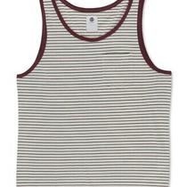 Element Mens Shirt White Red Size Xl Tank Top Striped Pocket-Front Rocky 577 Photo