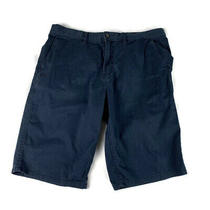 Element Mens Size 32 Chinos Shorts Howland Flex Skating Flat Front Navy Blue  Photo