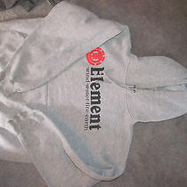 Element Mens Skater Skate Board Hoodie Sz Large Earth Wind Water Fire Fast Ship Photo