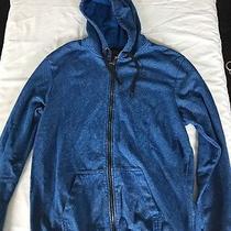 Element Mens Zip Up Sweatshirt Blue Extra Large Xl Photo