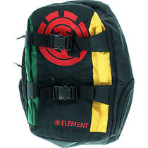 Element Mohave Backpack - Black/black/rasta Photo