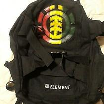 Element Mohave Backpack Skateboard Snowboard Jamaican Colors Red Green Yellow Photo