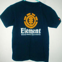 Element Navy  Blue Tshirt With Graphics (M/l) Super Cute Photo