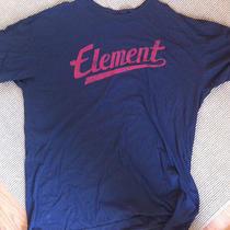 Element Navy Graphic T Shirt Xl Photo