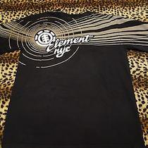 Element Nyc Skate T-Shirt L Hipster Ny Hippie Rock Pabst Brooklyn Warped Vans La Photo