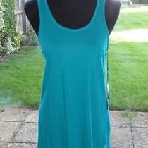 Element Organic Jade Green Vest Top Medium 10 New With Tags Photo