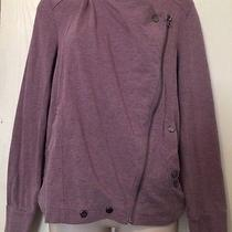 Element Purple Side Zipper Hoodie Unique Sexy Jacket Spring - Small Photo
