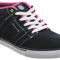 Element Quartz Navy Pink Mens Skate Shoes Size 10.5 Photo