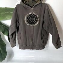 Element Sherpa Lined Hoodie Sweatshirt Size Junior Xl  Photo