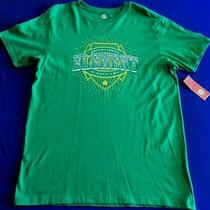 Element Shield Graphic T Shirt - Green - Size Extra Large Photo