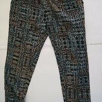 Element Size Large Casual Dekker Pants Multi-Color Elastic Waist Boho Indie Photo